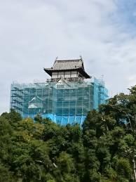 9月30日現在の犬山城