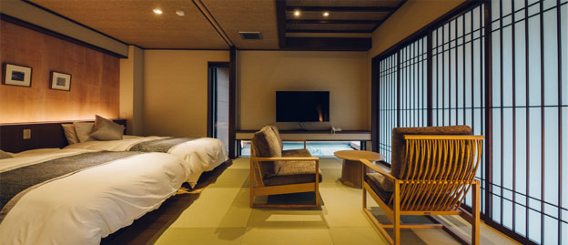Japanese Modern Deluxe Suite